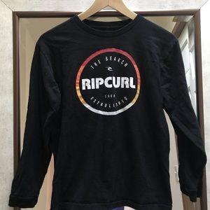 Rip Curl Boys Long Sleeve Graphic Tee - M